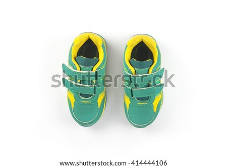 Indian Made Kid's Foot ware  - stock photo