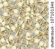 500 Indian rupees high resolution seamless texture/Indian money seamless texture - stock photo
