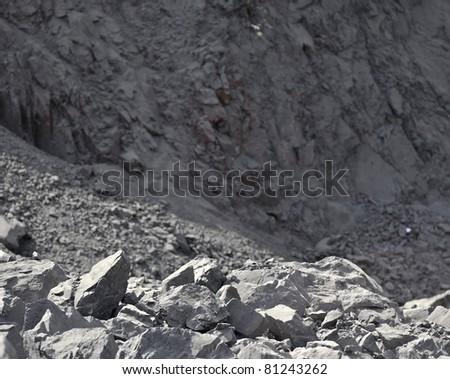 Iron ore - stock photo