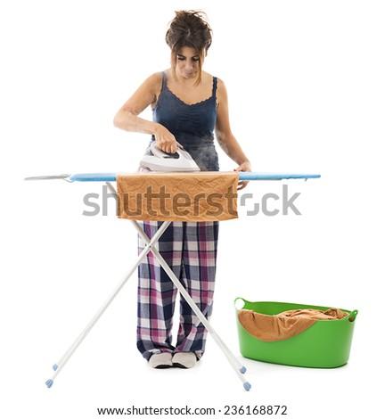 Iron Woman - stock photo