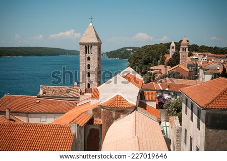 Island of Rab, Croatia  - stock photo