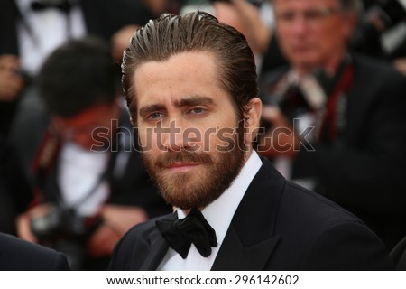 Jake Gyllenhaal  attends the closing ceremony during the 68th annual Cannes Film Festival on May 24, 2015 in Cannes, France. - stock photo