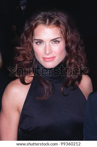 10JAN99:  Actress BROOKE SHIELDS at the 25th Annual People's Choice Awards in Pasadena, California.  Paul Smith / Featureflash - stock photo