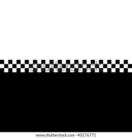 (Jpg) 80s retro checkerboard design with plenty of copyspace. A vector version is also available. - stock photo