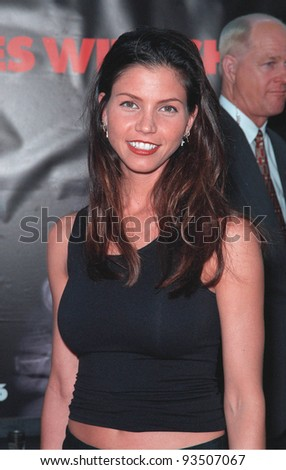 "13JUL99:  Actress CHARISMA CARPENTER at the world premiere, in Los Angeles, of  ""Eyes Wide Shut"".  Paul Smith / Featureflash"