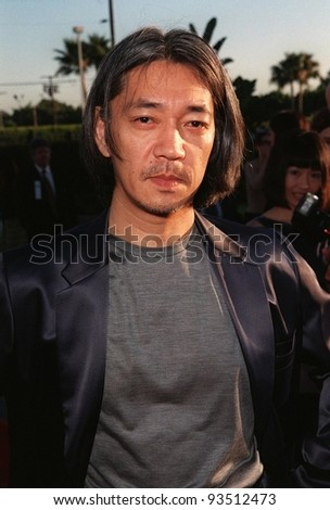 """30JUL98:  Composer RYUICHI SAKAMOTO at the Hollywood premiere of  """"Snake Eyes"""" for which he wrote the music. - stock photo"""