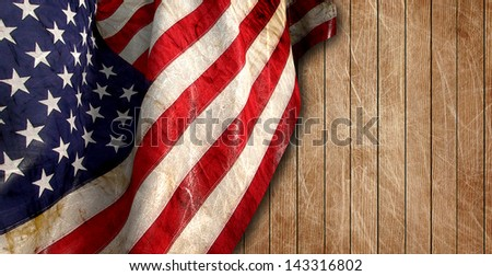 4 july background - stock photo