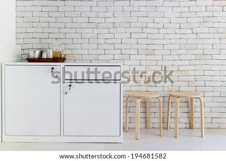 kitchen decoration - stock photo