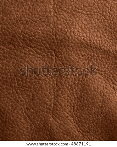 leather texture brown for background - stock photo