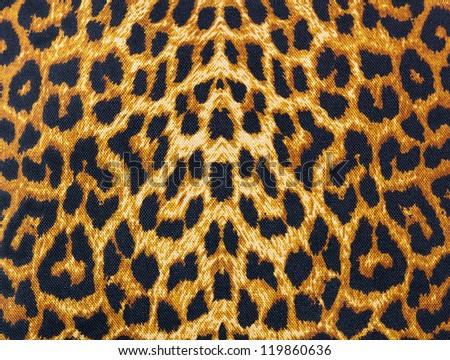 leopard skin decorative background - stock photo