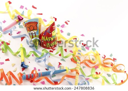 Let's party ! - Stock Image  /  Let's party ! - Copy Space  - stock photo