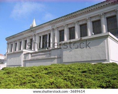 library berkeley university - stock photo