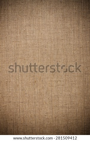linen canvas background or texture - stock photo