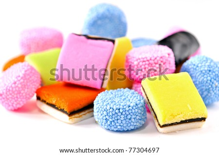 'liquorice 'all? sorts - stock photo