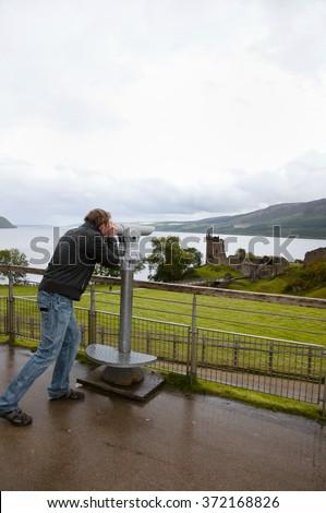 Loch Ness - Scotland - stock photo