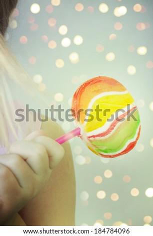 lollipop  - stock photo