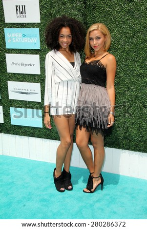 0LOS ANGELES - MAY 16:  Sweet Suspense at the Super Saturday LA at the Barker Hanger on May 16, 2015 in Santa Monica, CA - stock photo