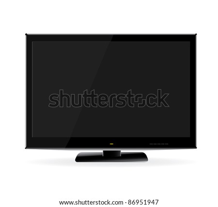 Lsd Tv Monitor - stock photo