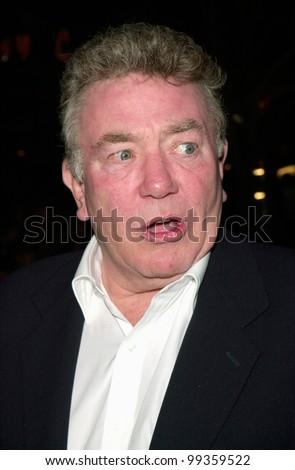 """14MAR2000:  Actor ALBERT FINNEY at the world premiere, in Los Angeles, of """"Erin Brockovich"""" in which he stars with Julia Roberts .  Paul Smith / Featureflash - stock photo"""