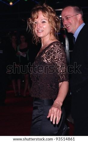 "12MAR98:  Actress ELLEN BARKIN at the world premiere of ""Primary Colors,"" in Hollywood"