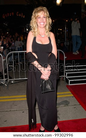 "14MAR2000:  Attorney ERIN BROCKOVICH at the world premiere, in Los Angeles, of ""Erin Brockovich"" which stars Julia Roberts & Albert Finney.  Paul Smith / Featureflash - stock photo"