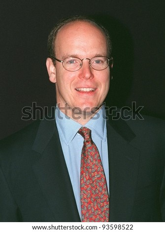 """18MAY98:  PRINCE ALBERT of MONACO at Cannes Film Festival for premiere of """"One Man's Hero,"""" in which he makes his acting debut. - stock photo"""