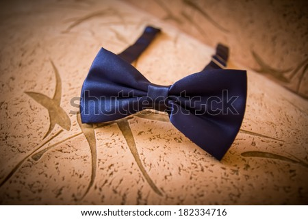 Men accesory-butterfly - stock photo