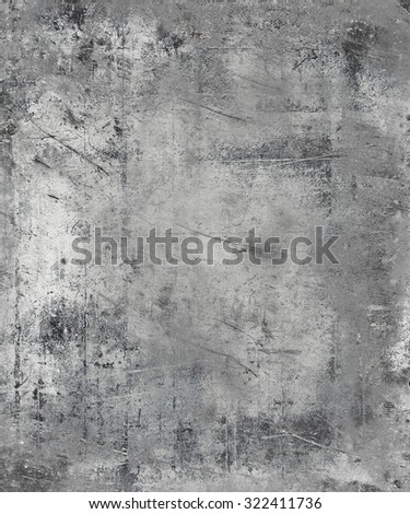 Metal Scratched Texture Background - stock photo