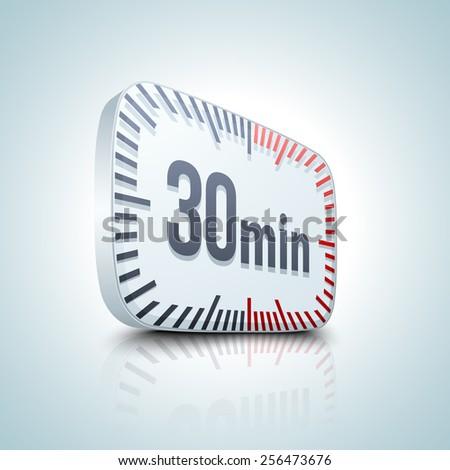 30 minutes timer stock photos royalty free images. Black Bedroom Furniture Sets. Home Design Ideas