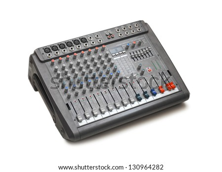 mixer - stock photo