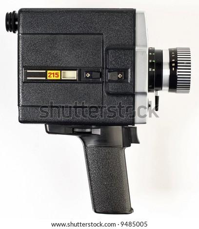 8 mm camera - stock photo