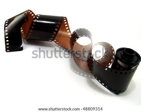 35mm Film - stock photo