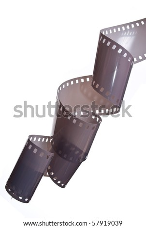 35 mm film - stock photo