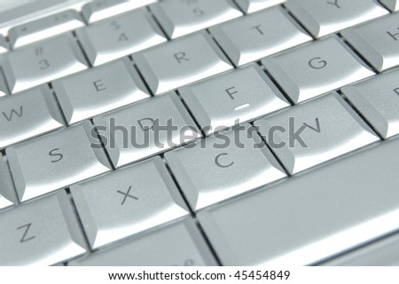 Modern Laptop Keyboard