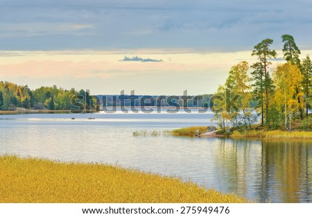 "Mon Repos or ""Monrepos"" landscape park at Vyborg. Russia - stock photo"