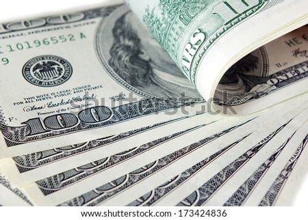 money background from dollars usa - stock photo