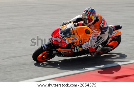 2007 MotoGP actions during Pre-Season test at Sepang F1 International Circuit Malaysia - Nicky Hyden Repsol Honda Team