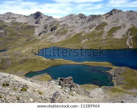 Nelson Lakes - stock photo