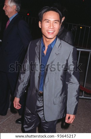 "06OCT97:  Actor B.D. WONG at the premiere in Los Angeles  of Brad Pitt's new movie, ""Seven Years in Tibet."""