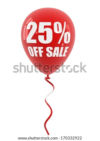 20 off sale balloon