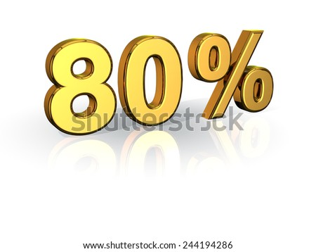 80% Off Special Offer GOLD