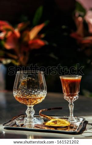?ognac ?ocktail - stock photo
