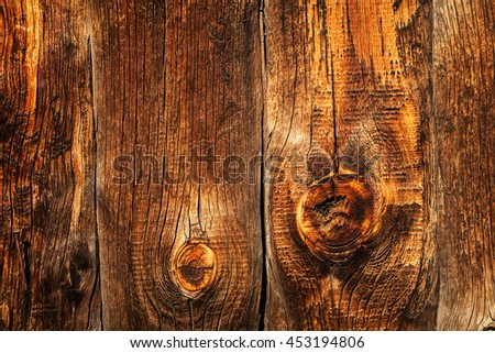 Old brown wooden background - stock photo