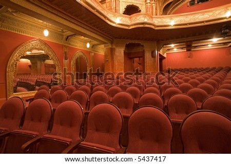 old cinema interiors