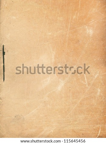 Old scratched paper texture - stock photo