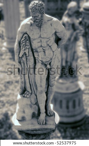 Greek Male Roman Statue Stock Photos Images Pictures