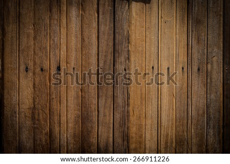 Old wood walls - stock photo