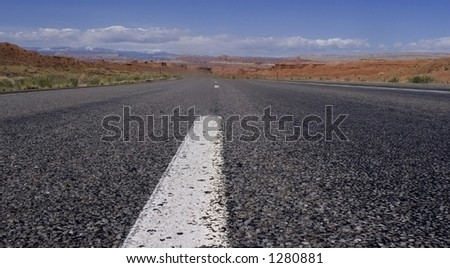 on the road to vagus - stock photo