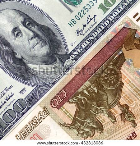 100 (one hundred ) dollars ?nd 100 ( one hundred  ) rubles .