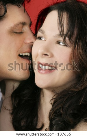 - Our Secret - Whisper sweet nothings - Sordid gossip - stock photo